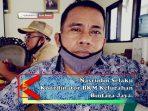 Nasrudin Selaku Koordinator BKM Kelurahan Bintara Jaya.