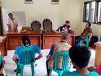dok. Foto – Jadwal pelatihan BKM dan KSM Kelurahan Bintara Jaya, sebelum pelaksanaan pekerjaan di mulai.